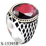 지르코니아를 가진 Hotsale 디자인 형식 보석 반지 은 925