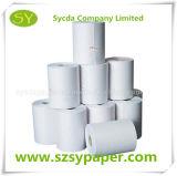Roulis personnalisé de papier thermosensible de la taille 65g