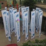 Флаг Поляк случая спортов /Swooper/Beach изготовленный на заказ печати напольный рекламировать индикации Teardrop/Vetical/пера