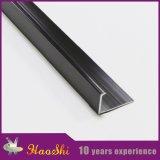 Couleur blanche L profils en aluminium de bord d'extrusion de forme (HSL-297)