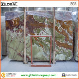 Естественный зеленый Onyx для стен, плиток, полов, верхних частей тщеты