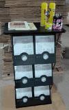 Stand de compteur/pupitre de conférencier d'étalage de compteur/salon d'expo avec 6 poches de littérature