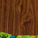 Papier estampé décoratif des graines en bois de noix noire pour l'étage