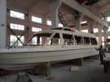 Barco del yate de placer de la fibra de vidrio