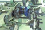 Type de poussoir alimentant de câble d'alimentation complètement automatique à grande vitesse machine feuilletante de cannelure