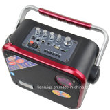 FM, USB, SD, Remote Control F83를 가진 3 인치 Tweeter LED Light Stage Speaker