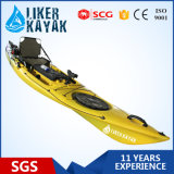 Angler 2015 Kayak mit deluxem Seat&Trolley von Sand/von Black Color Fishing Kayak