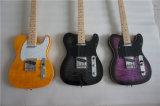 Поставщик сертификата BV/SGS---Типа Basswood Китая Aiersi гитара твердого Tele электрическая