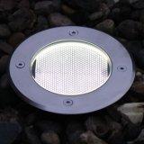 Luz solar de la lámpara del sensor de la cubierta del jardín grande óptico impermeable LED del camino