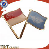 Personalizar Pin nacional da bandeira do metal da cruz da amizade do mundo (FTFP1625A)