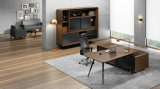 Nuovo Design Office Wooden Executive Table con Side Cabinet (HF-01D25)