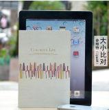 2016 Nueva cubierta del papel del diseño del arte 32k barato Notebook hecha por la fábrica