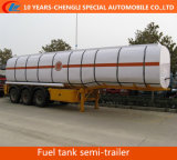 Semi-Trailer do depósito de gasolina de 45cbm 3axles