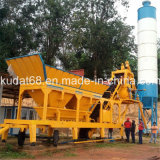 35m3/H Mobile Concrete Mixing Plant (YHZD35)