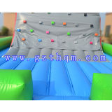 子供PVC屋外の練習のための膨脹可能な岩登りモデル20FT