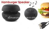 Mini altoparlante dell'hamburger per il telefono mobile