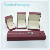Caja de joyería de empaquetado de lujo de la alta calidad