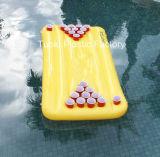 게임 (RC-566)가 물 수영장을%s 팽창식 탁구 스포츠에 의하여 농담을 한다