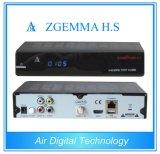 Canais completos High-Tech Zgemma H. S Receptor de TV por satélite Alto CPU Linux OS DVB-S One Tuner