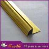 tipo cerrado redondo ajuste de aluminio del borde del azulejo (HSRC-215) del peso 215g
