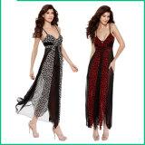 Одежды M8024 женщин сексуального женское бельё леопарда сексуальные