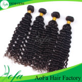 Estensione brasiliana profonda dei capelli umani del Virgin del tessuto dei capelli umani dell'onda 6A/7A/8A Remy