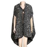 Caxemira 190*65cm reversível Sleeveless das mulheres como o xaile morno do lenço do Poncho do Throw da estola do inverno (SP250)