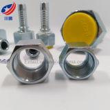 Montaggio di tubo flessibile idraulico dell'acciaio inossidabile 20411 20511 Dkol adattantesi Dkos che misura l'accoppiamento idraulico del giunto circolare femminile metrico
