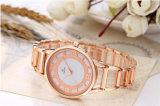 Spitzenmarken-Frauen-Uhr-ultra dünner Edelstahl-Band-Analogdarstellung-Quarz-Armbanduhr-Luxus überwacht 71332