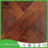 Azulejo de suelo impermeable del laminado de madera AC3 con alto HDF