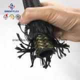 Заплетенный волокном шланг крышки резиновый гидровлический