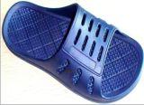 Одна машина ботинка впрыски выдувания воздухом сандалий тапочки PVC Pcu цвета отливая в форму
