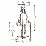 DINの標準F5ゲート弁