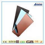 El panel compuesto de aluminio de la capa de PVDF para el revestimiento exterior