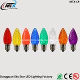 indicatore luminoso di natale chiaro esterno C7 di natale di 0.3-0.5W LED da vendere