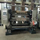 Máquina que raja controlada PLC automática para la película plástica