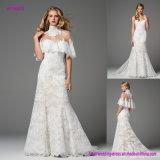 Cette prise régénératrice romantique sur le lacet de combinaison saisissant classique de robe de mariage