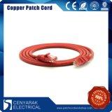 кабель заплаты кабеля локальных сетей сети CAT6 3m RoHS уступчивый