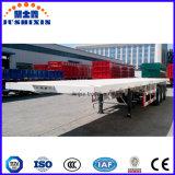 40FT 3개의 차축 콘테이너 포좌 공용품 또는 반 화물 평상형 트레일러 또는 플래트홈 콘테이너 트레일러