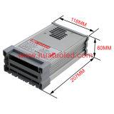 bloc d'alimentation de 12V25A DEL/lampe/bande flexible IP65 antipluie