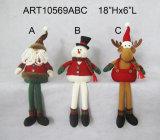 Gift van de Decoratie van Kerstmis van de Babysitter van het Rendier van de Sneeuwman van de kerstman de Zelf