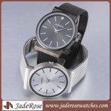 Montre-bracelet imperméable à l'eau de luxe de mâle de quartz de type d'affaires