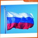 Waterdichte douane en de Nationale Russische Vlag van de Vlag Sunproof