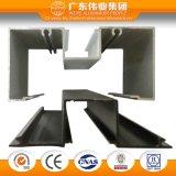 Profil d'aluminium de combinaison de guichet de glissement
