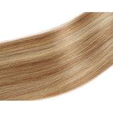 Trama brasileña del pelo humano de Remy del pelo recto de la Virgen