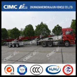 48FT Cimc Huajun Aluminium-Steel Leuchte-Duty Skeleton Container Trailer