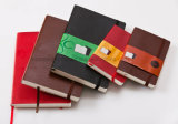 De in het groot Agenda van de Dekking van Pu Zacht en Notitieboekje Moleskine