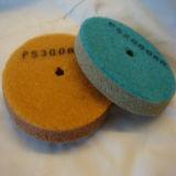 almofada de lustro da roda da esponja do grão 500AA