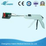Grapadora curvada quirúrgica disponible del cortador para la operación de la cirugía
