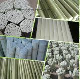Força Flexural elevada GRP/Fiberglass/FRP Rod, estaca da sustentação da planta